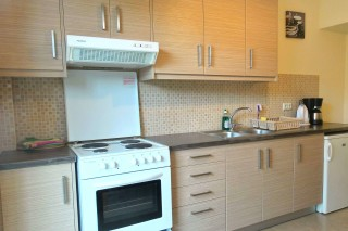 Superior Sea view Apartment neapolis kitchen