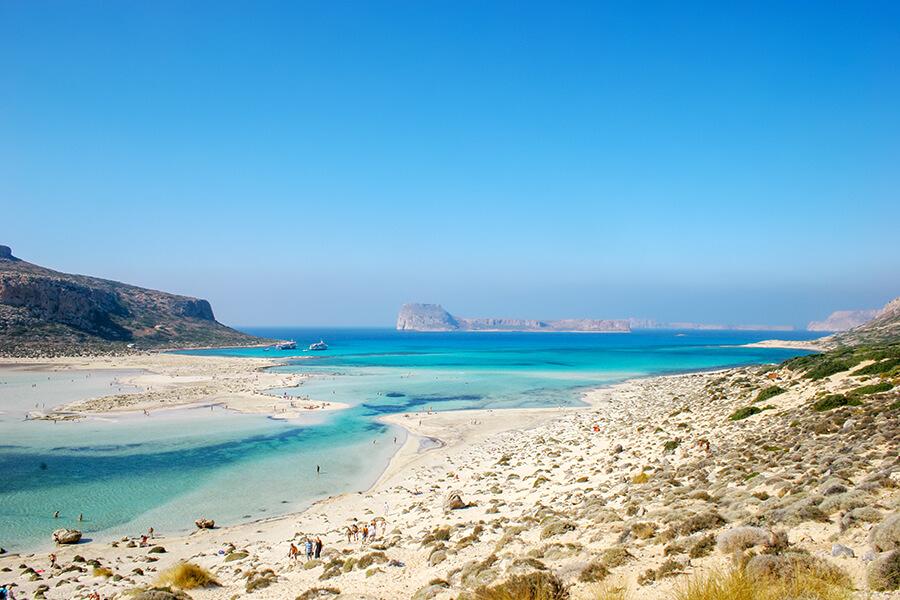 balos beach crete holidays