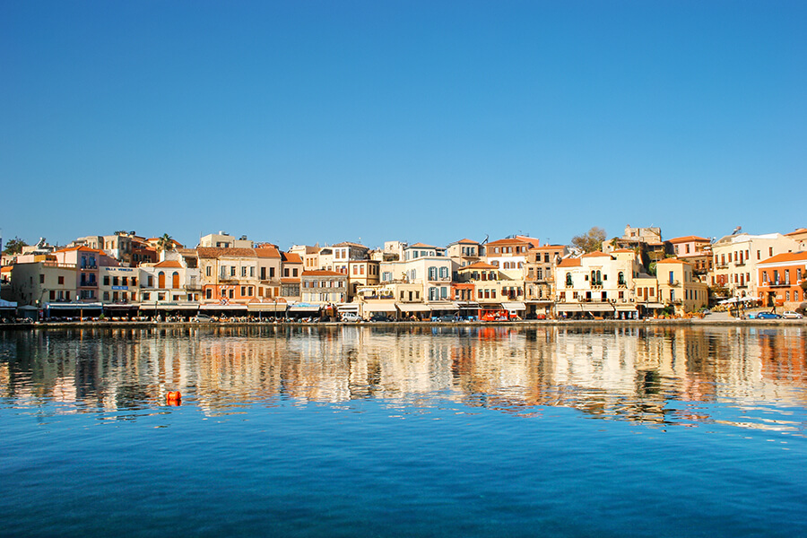 chania town crete holidays
