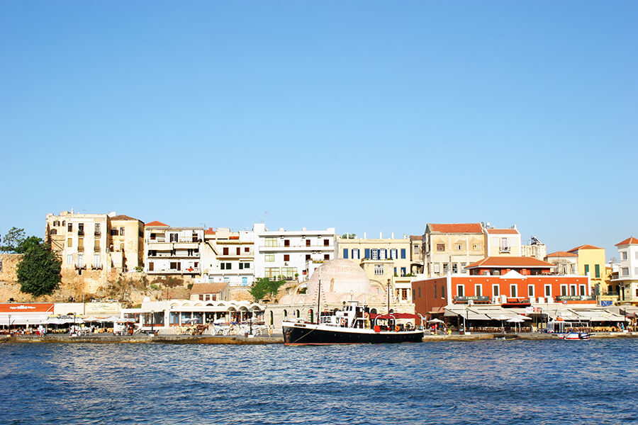 chania town view