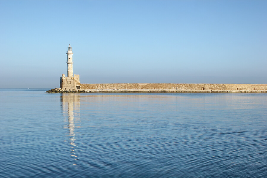 egyptian lighthouse chania