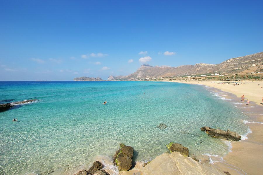 falasarna beach chania crete