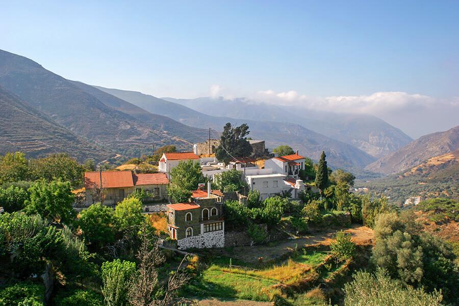 kefali village crete