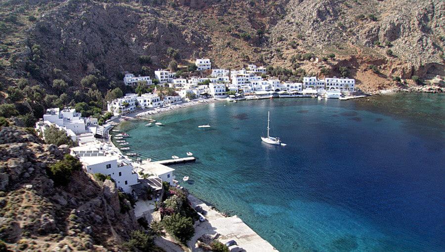 loutro village crete