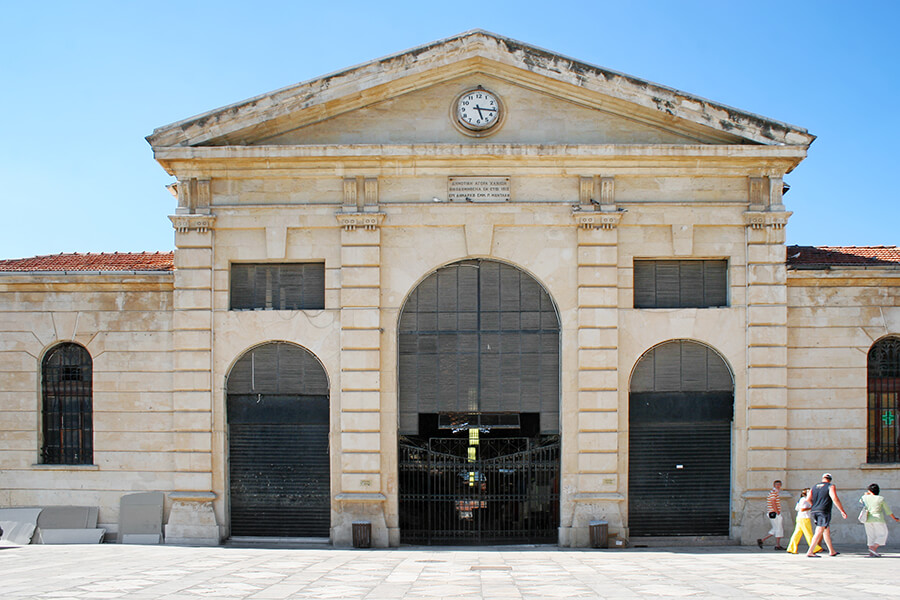 municipal market chania crete