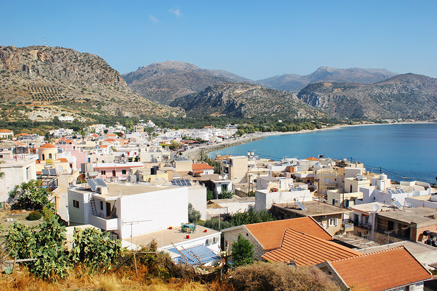 paleochora chania crete