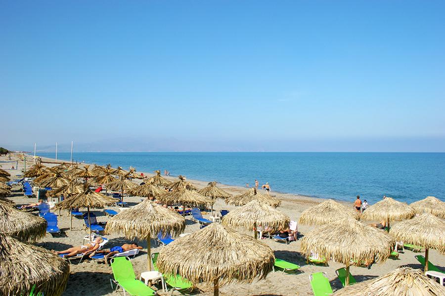 platanias beach chania
